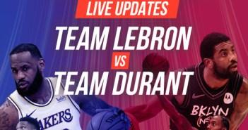 2021 NBA All-Star Game Live Stream: Team LeBron Vs Team Durant