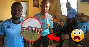 Referees Be@ten To D3ath By Players & Fans In Division One League Match In Ghana [Watch Video]