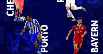 Chelsea Vs Porto FC || PSG Vs Bayern Munich | Free Live Stream