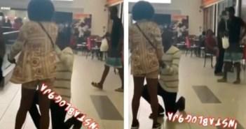 lady slaps her boyfriend in public
