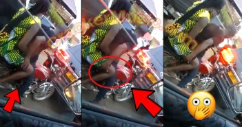 Okada Rider C@ught L!ve On Camera Trying To F!ng3r A Cl!ent In Traffic [Watch Video]