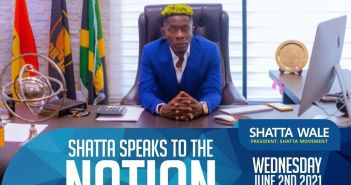 Shatta Wale Set To Speak To The Nation & His Fans On June 2nd - (Full Details)