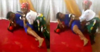 pastor's wife and member fight inside church