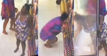 two ladies caught stealing at a supermarket