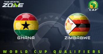 Ghana vs Zimbabwe (World Cup Qualifiers) Free HD Live