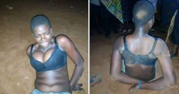 Female Thief Caught After She Was Abandoned By Boyfriend During Operation