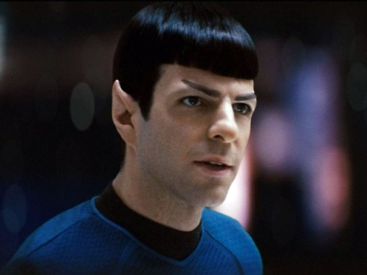 The new, sexy Spock.