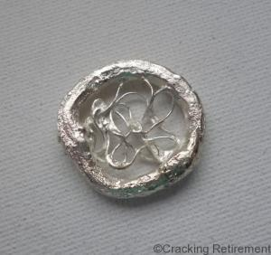 Cracking retirement cast silver twig mesh