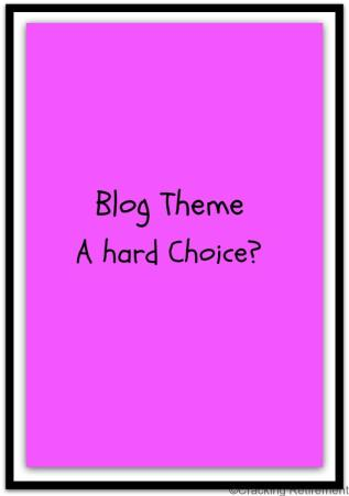 Cracking REtirement - Blog Choice