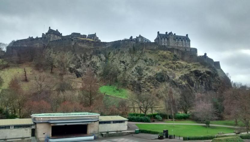 Cracking Retirement - Edinburgh castle