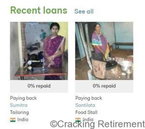 Cracking Retirement Kiva Loans