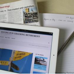 Cracking Retirement My Blog Magazine or Diary?