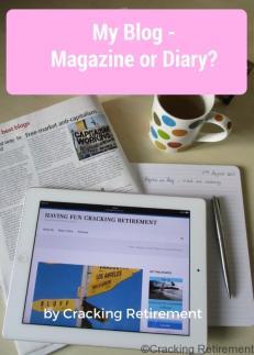Cracking Retirement My Blog Magazine or Diary v2