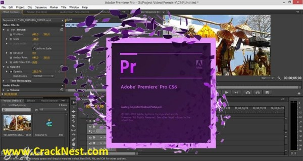 Adobe Premiere Pro CS6 Crack Keygen