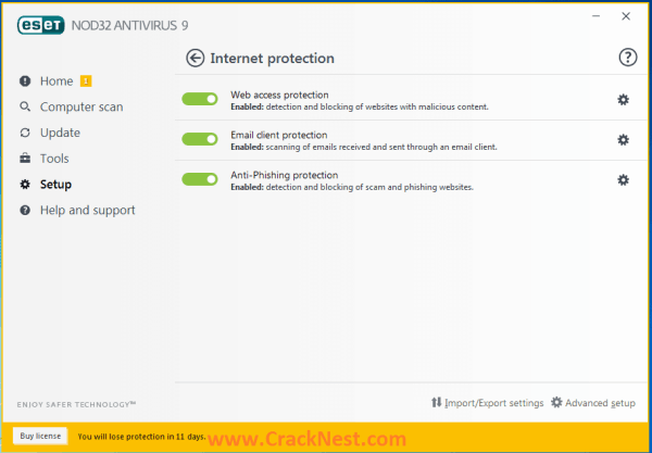 Eset Nod32 Antivirus 9 Activation Key Free