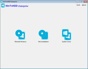 WinToHDD Enterprise Free