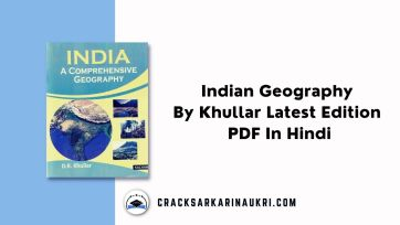 Indian Geography By Khullar Latest Edition PDF