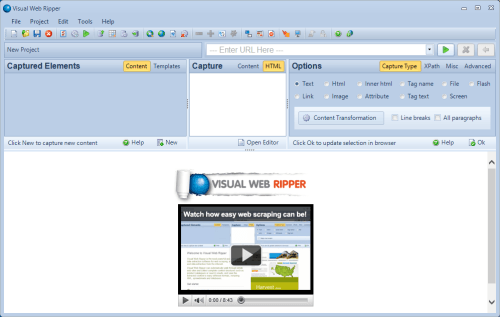 Visual Web Ripper 3.0 (2)