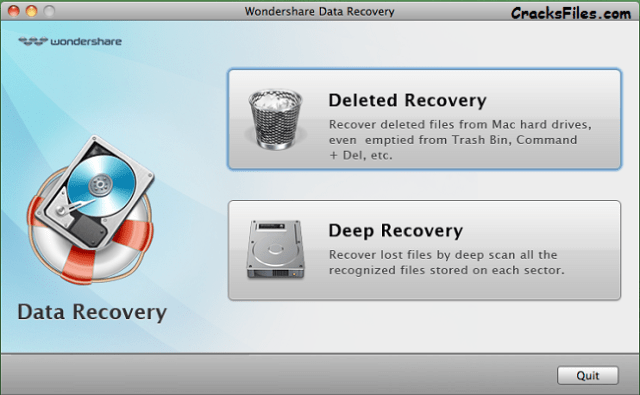 Wondershare Data Recovery 4 Crack