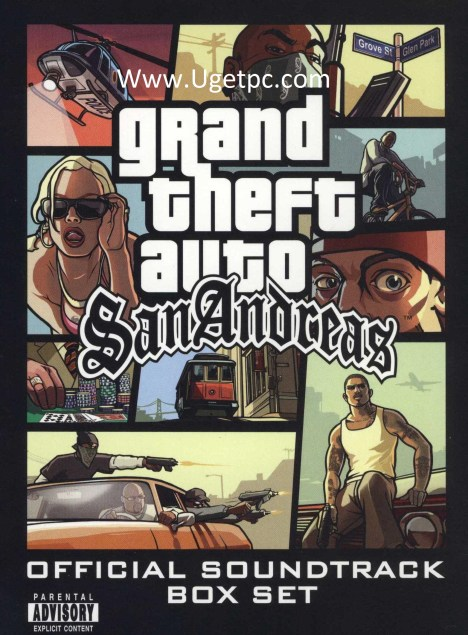 Gta San Andreas game-Cracksoftpc