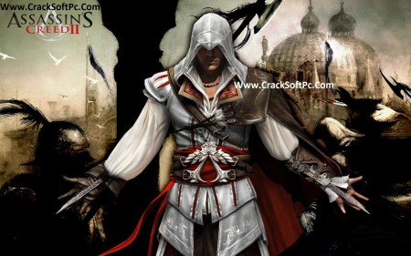 Altair Assassins Creed Game 2 Cover-CrackSoftPC