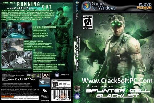 Tom Clancy's Splinter Cell Blacklist Pc Game Cover-CrackSoftPC
