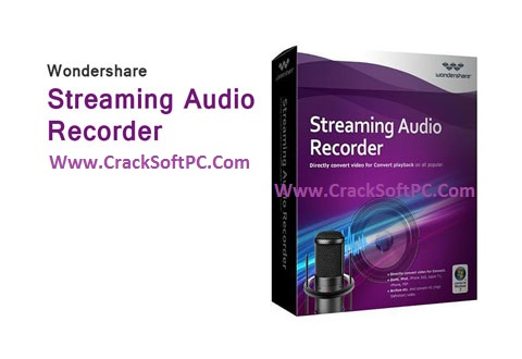 wondershare streaming audio recorder serial crack codes