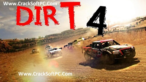 DiRT 4 Free Download Cover-CrackSoftPC