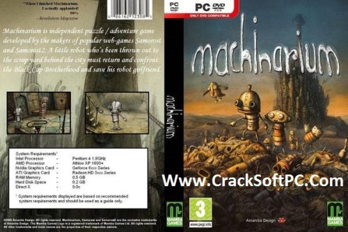 Machinarium PC Game Cover-CrackSoftPC