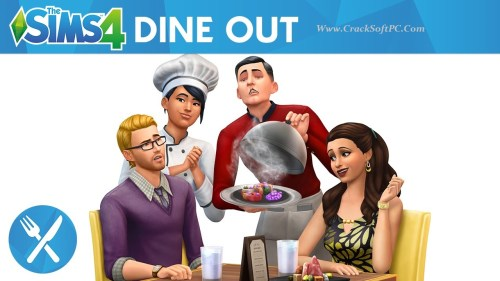 Sims 4 Dine Out Torrent Cracked Version-Cover-CrackSoftPC