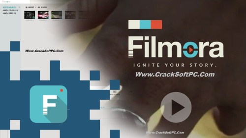 Wondershare Filmora Crack 8.2.1.1 All Effects Pack-Cover-CrackSoftPC