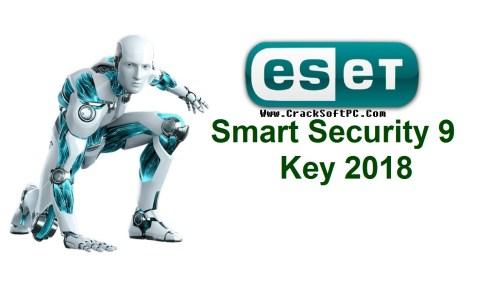 Eset Smart Security 9 Key 2018-CrackSOftPC