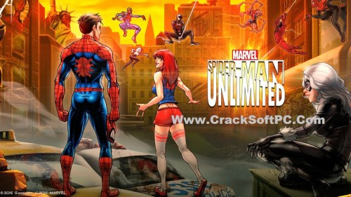 MARVEL Spider Man Unlimited APK-Cover-CrackSoftPC