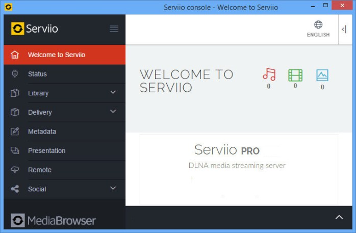 Serviio Pro Windows