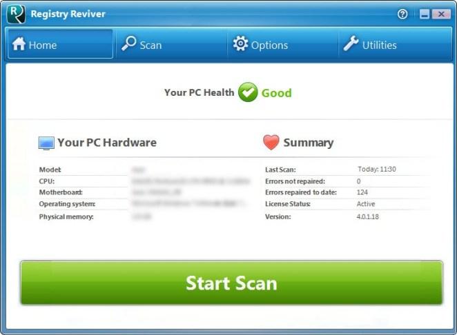 ReviverSoft Registry Reviver 2017