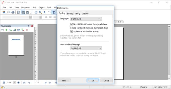 SoftMaker FlexiPDF Windows