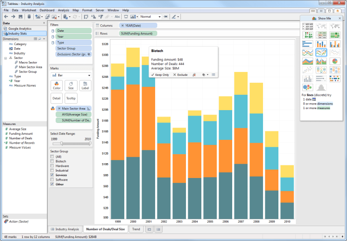 Tableau Desktop windows