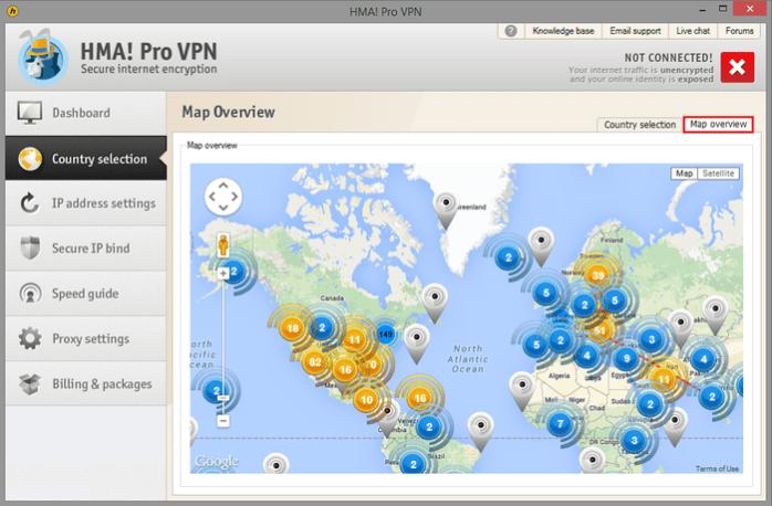 HMA! Pro VPN windows