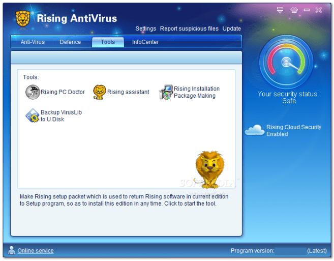 Rising Antivirus Windows