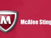 McAfee Stinger 12.1.0.3001 Crack Download HERE !