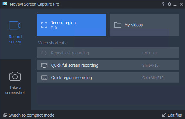 Movavi Screen Capture windows