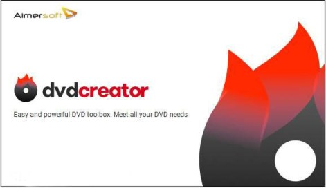 Aimersoft DVD Creator windows