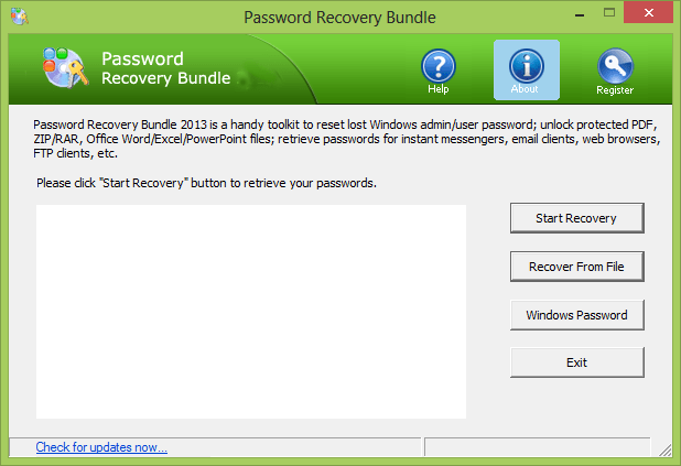 Password Recovery Bundle Windows
