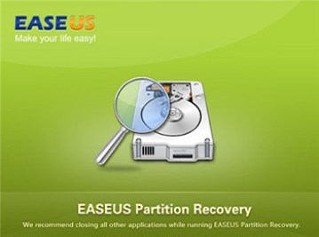 EaseUS Partition Recovery Windows