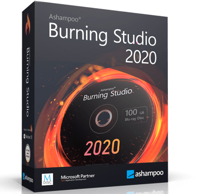 Ashampoo Burning Studio 2020 Windows