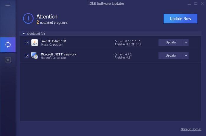 IObit Software Updater Pro