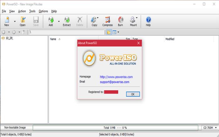 PowerISO for Windows
