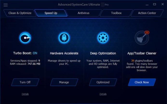 Advanced SystemCare Ultimate latest version