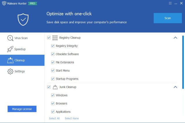 Glary Malware Hunter Pro windows