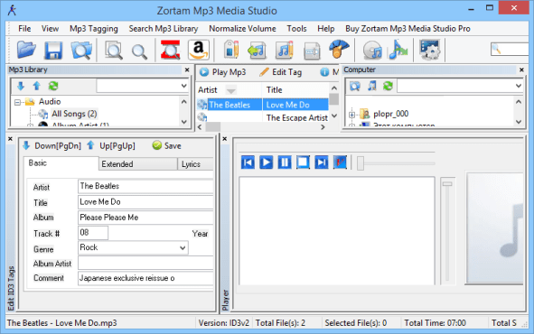 Zortam Mp3 Media Studio Pro latest version